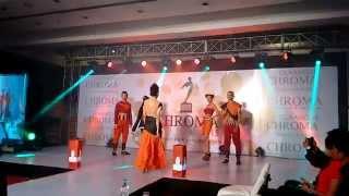 CHROMA 2015 Fashion Show Buddha Bandhan Designer Sukanya Bandyopadhyay