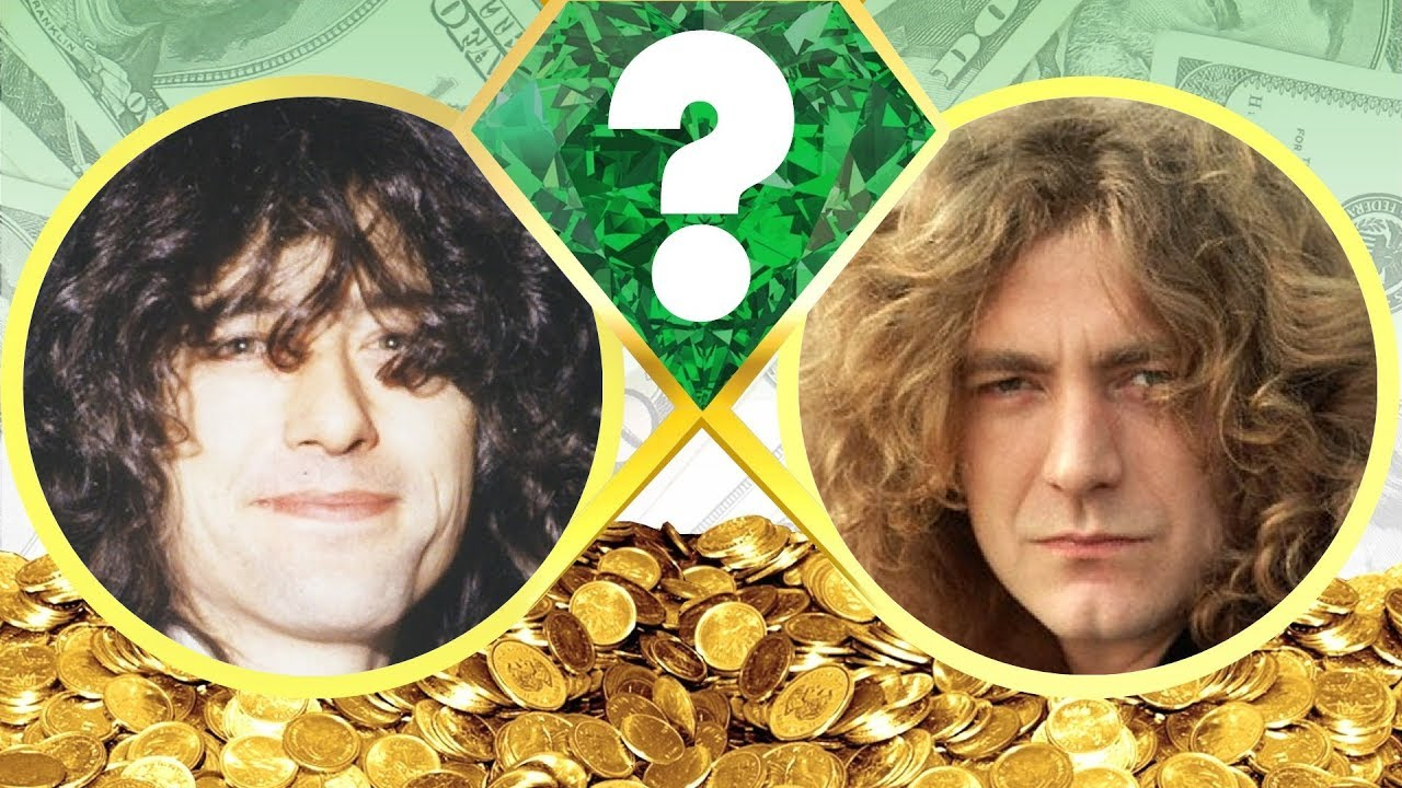 who s richer jimmy page or robert plant net worth revealed 2017 youtube. Black Bedroom Furniture Sets. Home Design Ideas