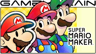 Super Mario Maker - M&L Paper Jam Event Course Playthrough!