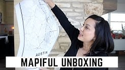 Unboxing: Map Poster from Mapiful | Simple Art | by Dom