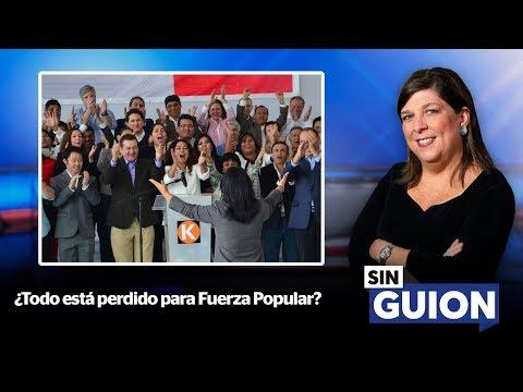 ¿Todo está perdido para Fuerza Popular? - SIN GUION con Rosa María Palacios