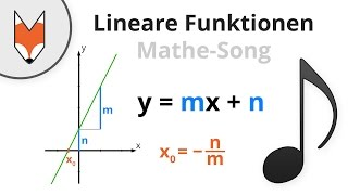 Lineare Funktionen (Mathe-Song)