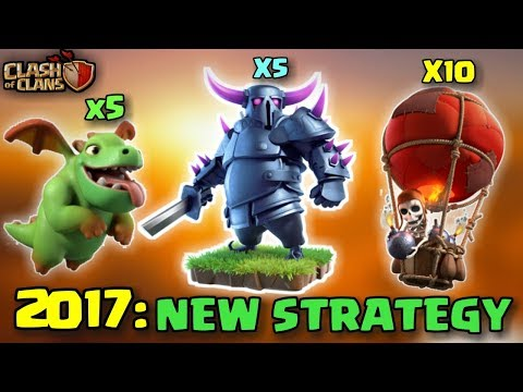 P.E.K.K.A + BABY DRAGON + LOONS | Th9 New 3 STARS STRONG WAR ATTACK STRATEGY | Clash Of Clans