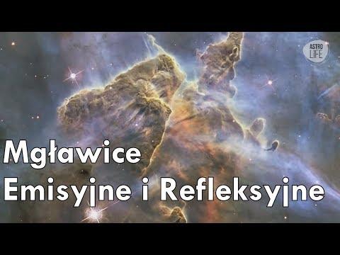 """""""Perły nocnego nieba"""" Mgławice Emisyjne i Refleksyjne - AstroLife"""