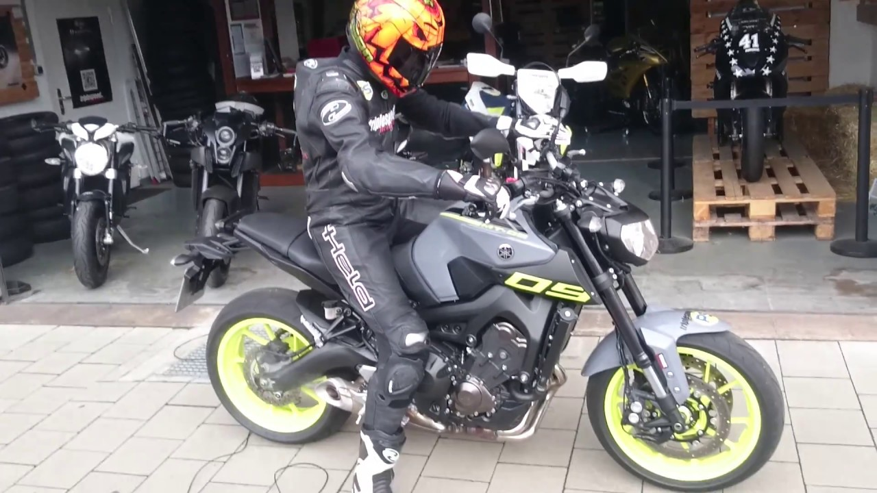 yamaha mt 09 first ride by triplespeed testride biketest motorrad film ps tune up. Black Bedroom Furniture Sets. Home Design Ideas