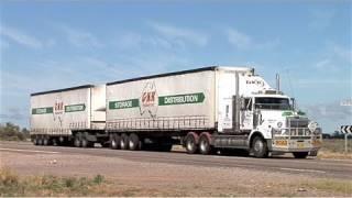 Australian Trucks: B-Doubles, B-Triples, and  Road Trains