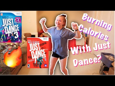 I Tested Out How Many CALORIES I can burn doing JUST DANCE.
