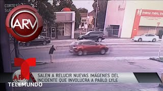 Revelan nuevo video del golpe de Pablo Lyle a un hombre | Al Rojo Vivo | Telemundo