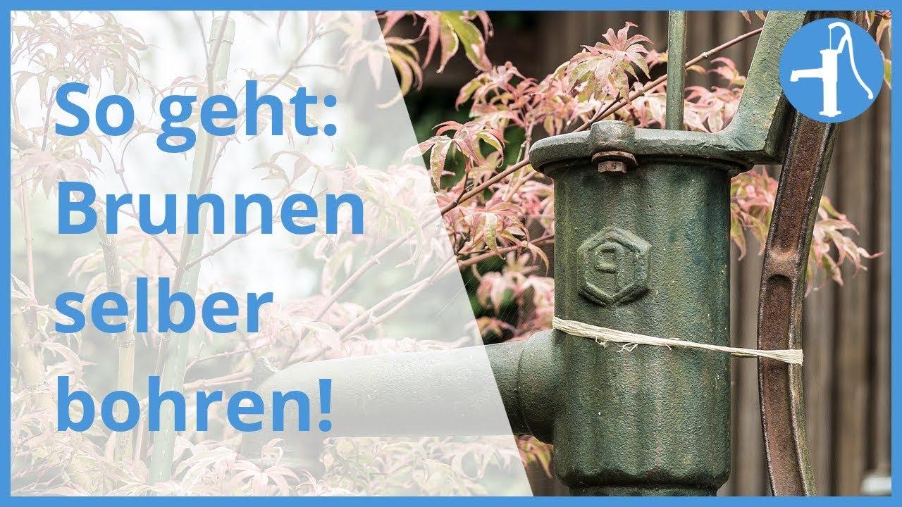 Brunnenbohren Von Hand 3 Wege Zum Eigenen Brunnen In Der