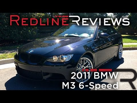 2011 BMW M3 6-Speed Review, Walkaround, Exhaust, & Test Drive