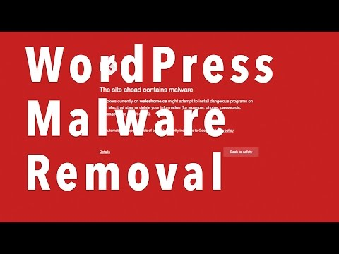 Wordpress Malware Cleanup Hacked Website 2016
