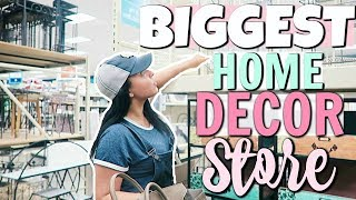 SHOP WITH ME 2018 | SHOPPING FOR HOME DECOR AT THE AT HOME STORE! | Page Danielle