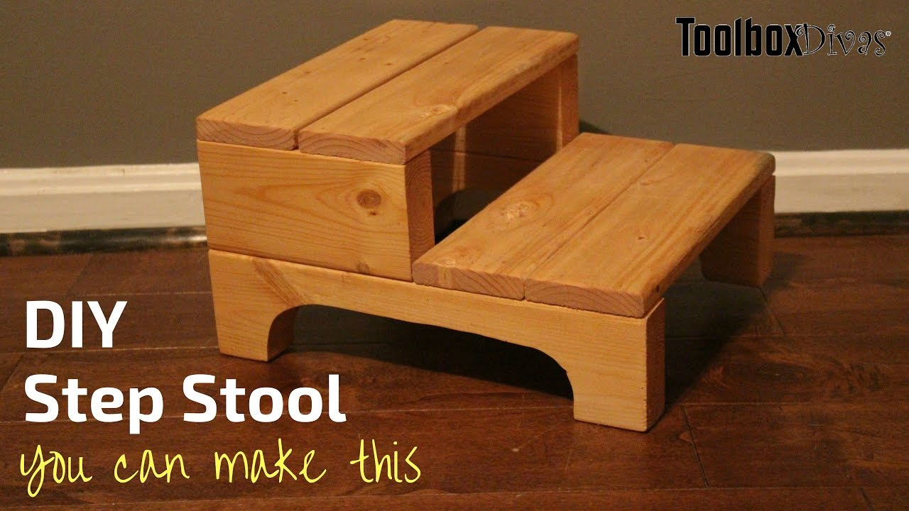 How to Build a Step Stool. ToolBox Divas & How to Build a Step Stool - YouTube islam-shia.org