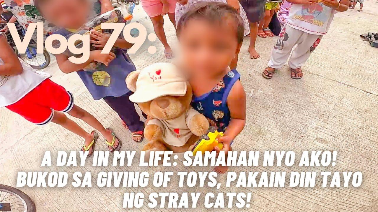 Vlog 79: A day in my life- samahan nyo ako! Nagpakain din tayong stray animals!