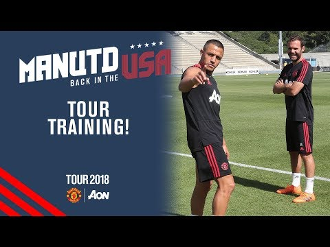 Manchester United Training! | Alexis Sanchez joins squad | USA Tour 2018 Live on MUTV thumbnail