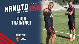 Watch the latest manchester united training session as alexis sanchez joins squad preparing for our second tour match against san jose earthquakes on sun...
