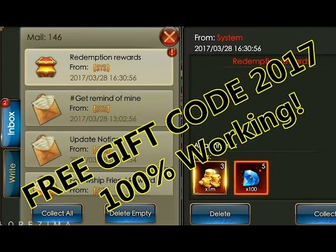 Legacy of Discord- 3x FREE GIFT CODE 2017-3-31. 100% working ...
