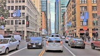 Driving Downtown - San Francisco