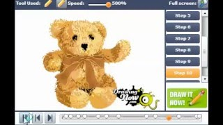 How to Draw a Teddy Bear Picture