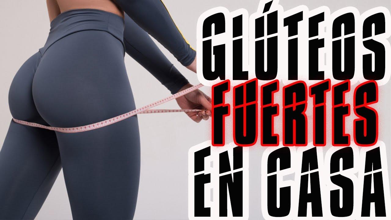 Rutina para GLÚTEOS GRANDES en casa   Piernas Fuertes en 10 min