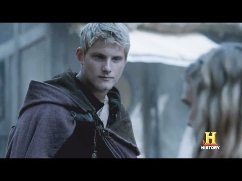 Vikings  Season 2  EP.6 Bjorn Flirts with Porunn Sneak Peek