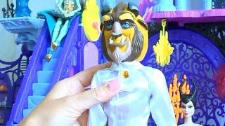 Распаковка новой игрушки принц Адам из мультика Красавица и Чудовище