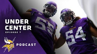 Under Center with Kirk Cousins: Barr and Kendricks & Previewing Vikings-Lions | Episode 7