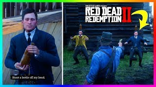 What Happens If You Shoot One Of The Brothers Instead Of The Bottle In Red Dead Redemption 2? (RDR2)