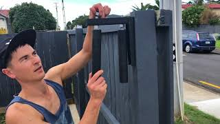 HOW TO install an automated gate