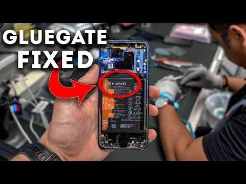 Fixing the Huawei Mate 20 Pro Gluegate Problem - Teardown & Repair !