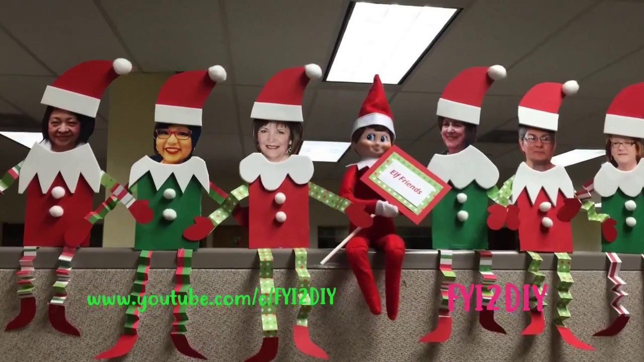 Christmas Wall Decorations For Office