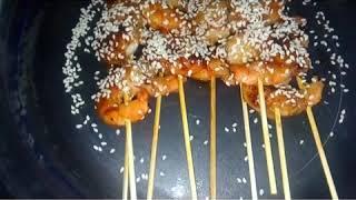 Креветки на шпажках. Королевские креветки. Очень вкусные креветки!