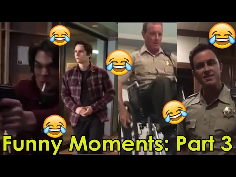 Thumbnail: MTVs Teen Wolf | Best Funniest Moments | Part 3: Dylan Sprayberry, Dylan O'Brien & Holland Roden