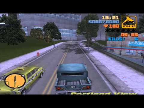 Grand Theft Auto III - Mission #54 - Espresso-2-Go!