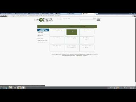 Searching ACM Digital Library