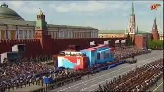 Парад Победы  Москва  Красная площадь 9 мая 2015  ПОЛНЫЙ ЭФИР