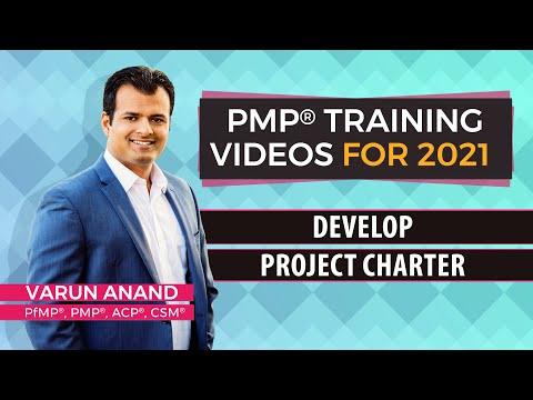 PMBOK 6 Edition Videos - Integration Management - Develop Project Charter (2018)