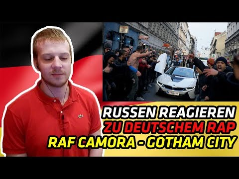 RUSSIANS REACT TO GERMAN RAP | RAF Camora - GOTHAM CITY (Anthrazit RR) #03 | REACTION