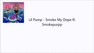 Lil Pump - Smoke My Dope ft. Smokepurpp (Instrumental) [NEW SONG]
