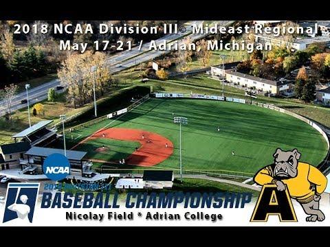 2018 NCAA Division III Baseball Mideast Regionals: La Roche vs. Adrian (Game Eight)