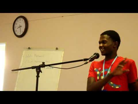 Image from Kundai Gwatidzo`s Lightning talk at PyCon Zimbabwe 2016