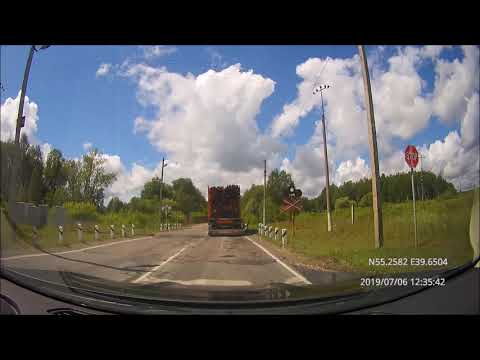 Driving In Central Russia: Спас-Клепики - Шарапово - Москва (Текстильщики) 06/07/2019 (timelapse 4x)