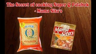 The Secret of cooking Super Q Special Palabok (Pancit Malabon) - Mama Sita