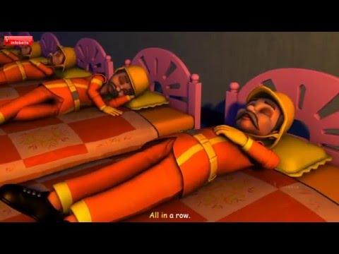 Ten Little Firemen Nursery Rhymes for Children