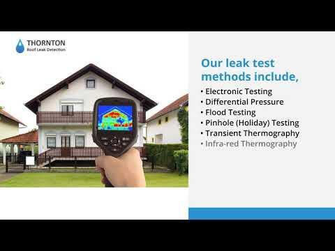 Thornton Roof Leak Detection - Flat Roof Leak Detection in UK