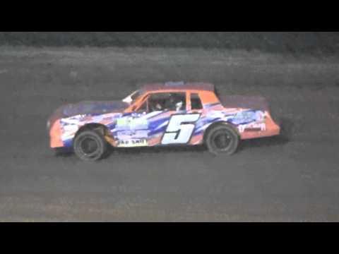 Ark La Tex Speedway factory stock heat 3 Fan night 4/23/16