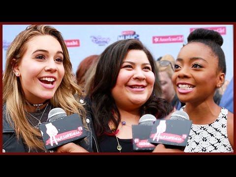 DISNEY STARS What's On My iPhone? at Radio Disney Music Awards 2015