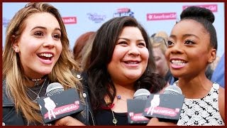 DISNEY STARS What's On My iPhone? at Radio Disney Music Awards 2015