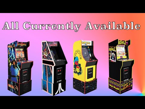 Arcade1Up Legacy Edition Listings from Original Console Gamer
