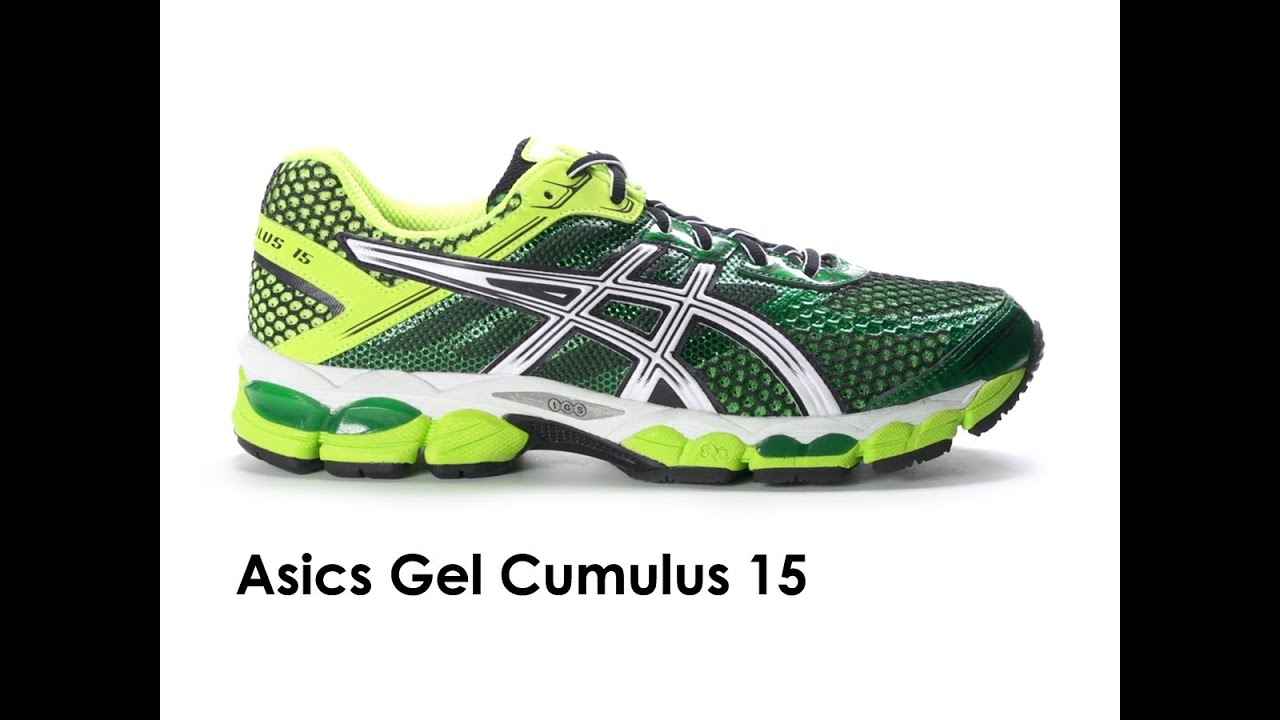 4520e230bb7 Asics Gel Cumulus 15 for men - YouTube
